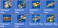 TransportShip icons