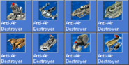 AntiAirDestroyer icons