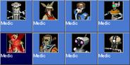 Medic icons