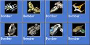 Bomber icons