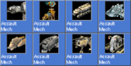 AssaultMech icons
