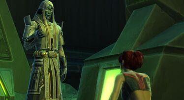 L'Empereur Sith possédant le Voss