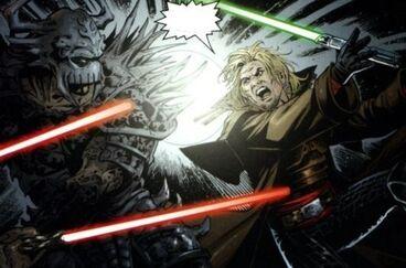 Dark Krayt vs Cade Skywalker