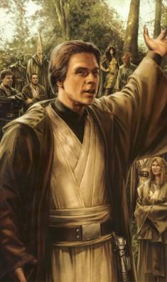 Luke Skywalker Grand Maître Jedi