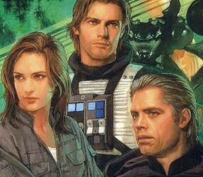 Jaina Solo , Jacen solo , Luke Skywalker (Guerre de l'essaim)