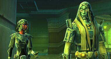 L'Empereur Sith sur Voss