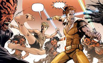Cade et Kol Skywalker Massacre D'ossus
