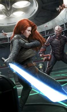 Mara Jade Skywalker vs vongs