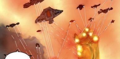 Empire des Machines vs Raggnos