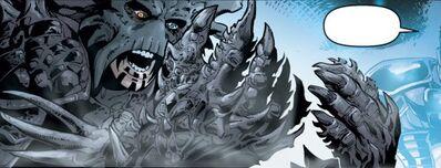 Mutation de l'armure vong de Dark Krayt