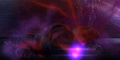 L'Esprit de l'Empereur Sith sortant de son hôte