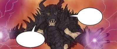 Dark Krayt invoquant le Dragon de Feu
