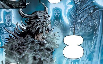 Dark Krayt face à Dark Andeddu , Dark Nihilus et Dark Bane