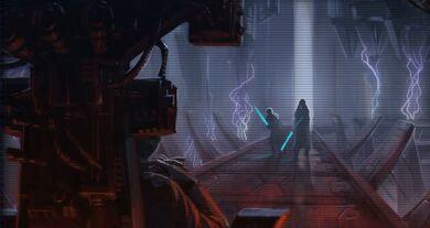 Rencontre avec l'Empereur Sith