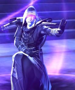 L'Empereur Sith se servant de la force