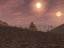 Dual Sunsets on Tatooine 02