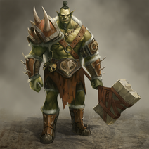 Orc boss enemy by babaganoosh99-d95oy3r