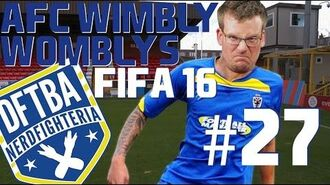 Meeting the Real Life AFC Wimbledon FIFA 16 Wimbly Womblys 27