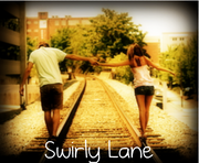 Swirly lane cover