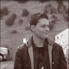 Emmett look so cute wonder who or what he's looking at