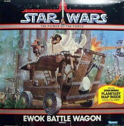 Ewok Battle Wagon Vehicle (93690)