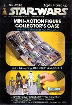 Mini-Action Figure Collector's Case (39190) Stk