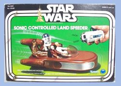 Sonic Controlled Land Speeder (38540)