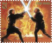 Stamp Obi-Wan Anakin