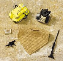 26207 c Tatooine Accessory set stock image