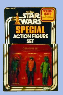 Special Action Figure Set Creature Set (39480) F