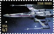 Stamp X-wing