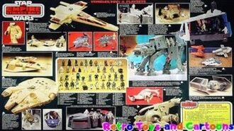 Star Wars Empire Strikes Back Toyline Palitoy Commercial Retro Toys and Cartoons