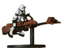 Scout trooper on speeder bike