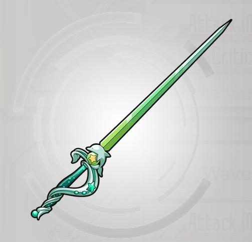 Equipment Dolphin Thrust Sword Art Online Memory Defrag
