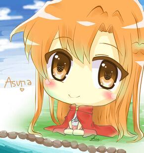 Asuna yuuki chibi by reese yamawe-d5p04c4