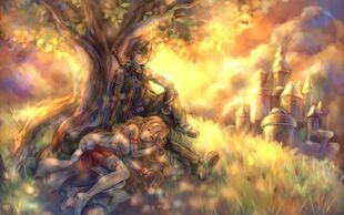 Anime-art-Sword-Art-Online-Yuuki-Asuna-365597