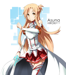 Asuna sao by hirokiart-d5shqm3