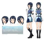 Sword art online - Sachi (Sword Art Online) Female Solo Character Sheet Official Art Official Character Inform...