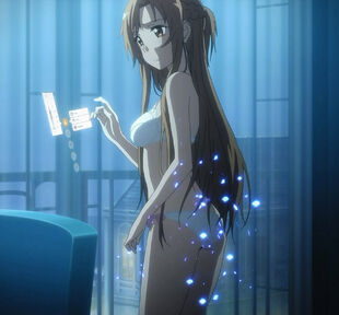 Chan.sankakucomplex.com - 1814995 - sword art online asuna (sao) screen capture 1girl bare shoulders blush bra braid