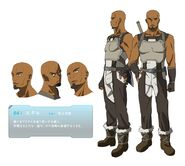 Sword art online - Andrew Gilbert Mills Male Solo Character Sheet Official Art Official Character Inform...