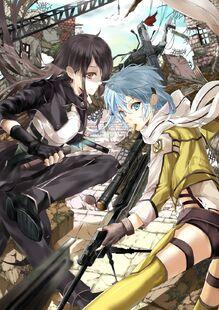 Art-anime-Gun-Gale-Online-Kirito-528134