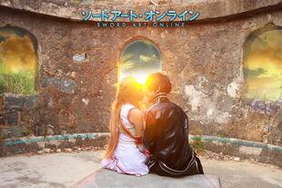 Asuna and kirito in sword art online by multipack223-d5hw6xg