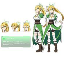 Sword art online - Kirigaya Suguha Female Solo Official Art Official Character Inform...