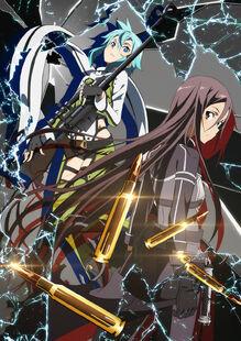 E-shuushuu.net 2014-01-02-626404 - Sword Art Online ~ Kirito, Sinon