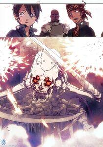 Sword Art Online Vol 01 p299 colorized