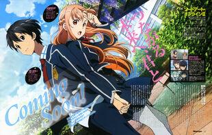 E-shuushuu.net 2014-02-11-633202 - Sword Art Online ~ Kirigaya Kazuto, Yuuki Asuna