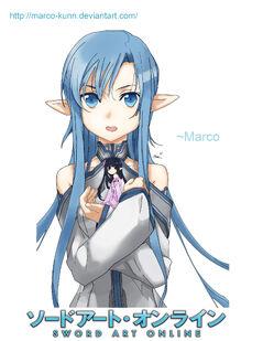 Asuna alo sword art online by marco kunn-d5zj0c0