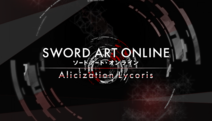 Logo SAO Alicization Lycoris