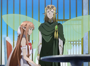 Chan.sankakucomplex.com - 1867772 - sword art online asuna (sao) oberon (sao) screen capture blonde brown eyes brown hair crown