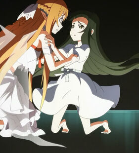 Chan.sankakucomplex.com - 1915932 - sword art online asuna (sao) yui (sao) screen capture black eyes black hair brown eyes brown hair
